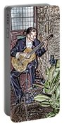 While My Guitar Gently Weeps Portable Battery Charger