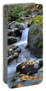 Whisketown Stream In Autumn Portable Battery Charger