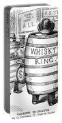 Whisky Ring Cartoon, 1875 Portable Battery Charger