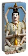 White Buddha Portable Battery Charger