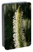 White Canadian Burnet Portable Battery Charger