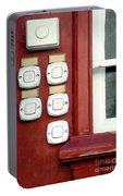 White Doorbells Portable Battery Charger
