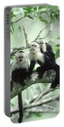 White-faced Capuchins Portable Battery Charger