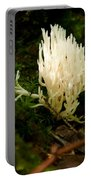 White Fungus Portable Battery Charger