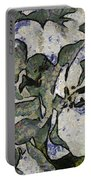White Geraniums   -- Vangogh Portable Battery Charger