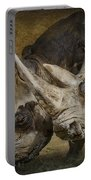 White Rhinos Portable Battery Charger