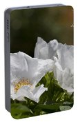 White Roses - Purge Me With Hyssop Portable Battery Charger