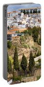 White Town Of Ronda Portable Battery Charger