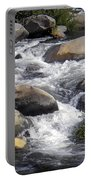 White Water Composition Portable Battery Charger