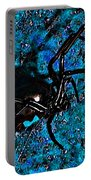 Wicked Widow - Blue Portable Battery Charger