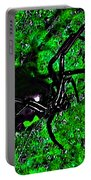 Wicked Widow - Green Portable Battery Charger