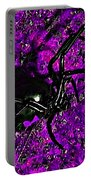 Wicked Widow - Purple Portable Battery Charger