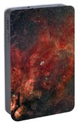 Widefield View Of He Crescent Nebula Portable Battery Charger