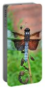 Widow Skimmer Dragonfly - Libellula Luctuosa Portable Battery Charger