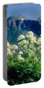 Wild Angelica Portable Battery Charger by James Steinberg and Photo Researchers