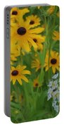 Wild Black Eyed Susan Portable Battery Charger