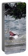 Wild Dolphin Feeding Portable Battery Charger