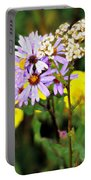 Wild Floral Portable Battery Charger