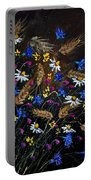 Wild Flowers 452150 Portable Battery Charger