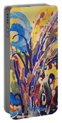 Wild Flowers106 Portable Battery Charger