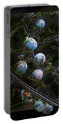 Wild Grapes Abstracted Portable Battery Charger