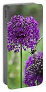 Wild Onion Flower Portable Battery Charger