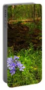 Wild Phlox In The Woodlands Portable Battery Charger