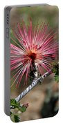 Wild Pink Fairy Duster Portable Battery Charger