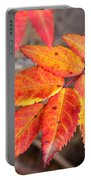 Wild Rose Leaves Portable Battery Charger