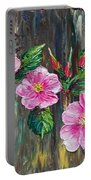 Wild Roses 09 Portable Battery Charger