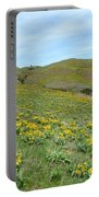 Wild Sunflowers 2 Portable Battery Charger