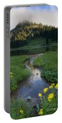 Wildflower Stream Portable Battery Charger