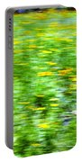 Wildflowers And Wind 2 Portable Battery Charger by Skip Nall