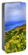 Wildflowers At Point Loma Portable Battery Charger