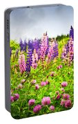 Wildflowers In Newfoundland Portable Battery Charger