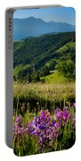 Wildflowers Umbria Portable Battery Charger
