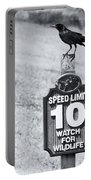 Wildlife Watching The Speed Limit Portable Battery Charger