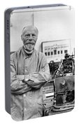 Willem Einthoven, Dutch Physiologist Portable Battery Charger