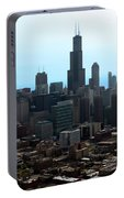 Willis Sears Tower 04 Chicago Portable Battery Charger