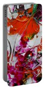 Wilted Flowers Portable Battery Charger