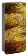 Windblown Grass Portable Battery Charger