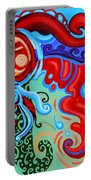 Winding Sun Portable Battery Charger by Genevieve Esson