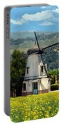 Windmill At Mission Meadows Solvang Portable Battery Charger