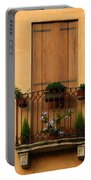 Window And Balcony In Vicenza Portable Battery Charger