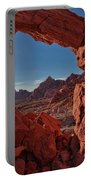Window On The Valley Of Fire Portable Battery Charger