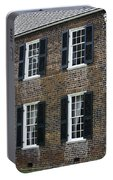 Windows At The Clover Hill Tavern Appomattox Virginia Portable Battery Charger