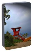 Windy Day In Haleiwa Portable Battery Charger