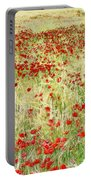 Windy Poppies Portable Battery Charger