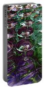 Wine Goblets Portable Battery Charger