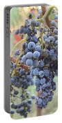 Wine Grapes In Provence Portable Battery Charger